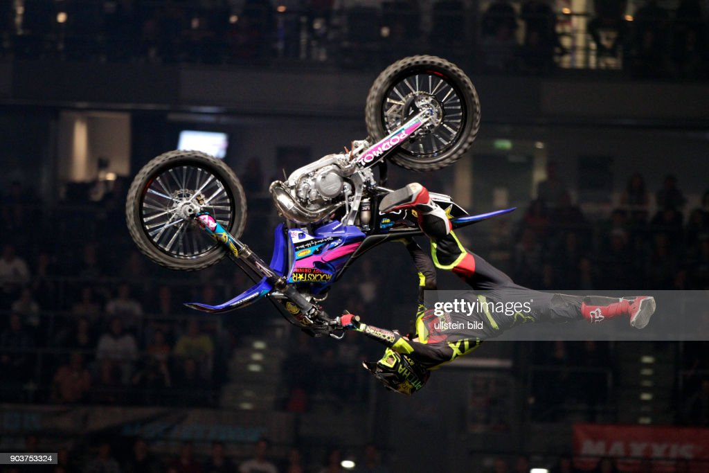 "Freestyle Motocross-Veranstaltung ""Night of the Jumps"" in der Lanxess-Arena Köln : News Photo"