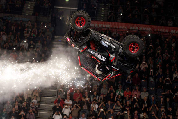 Freestyle Motocross Veranstaltung Night Of The Jumps In Der