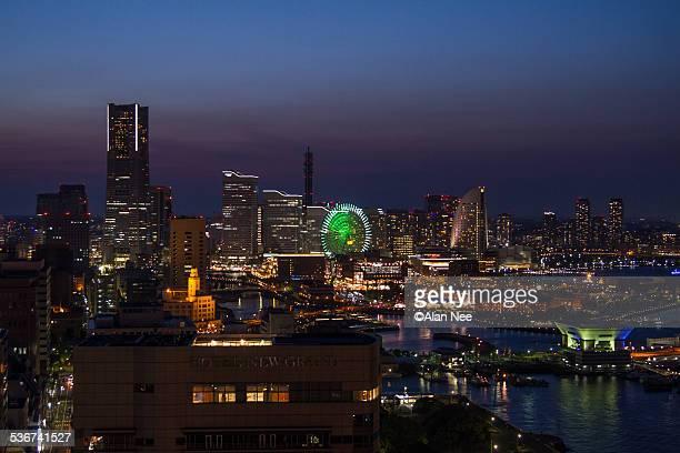 night of yokohama - nee nee stock photos and pictures