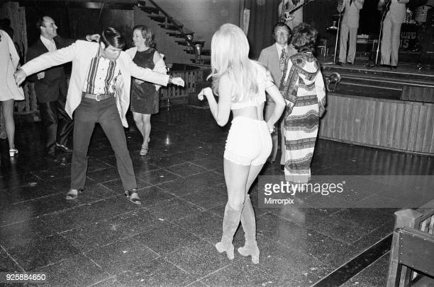 A night out in Majorca Spain August 1971