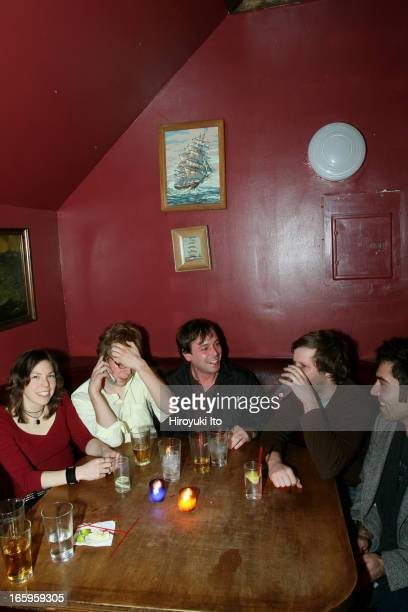 A night out with a rock band Matt Pond PA at Daddy's in Williamsburg Brooklyn on Saturday night November 19 2005This imageFrom left Dana Feder Dan...