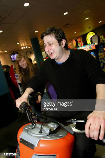 A night out with the comedian Eugene Mirman at Chuck E Cheese in downtown Brooklyn on Thursday night December 2 2004This image from leftHeather...