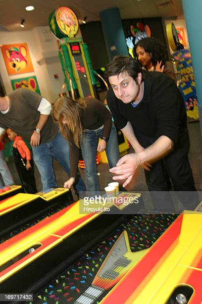 A night out with the comedian Eugene Mirman at Chuck E Cheese in downtown Brooklyn on Thursday night December 2 2004