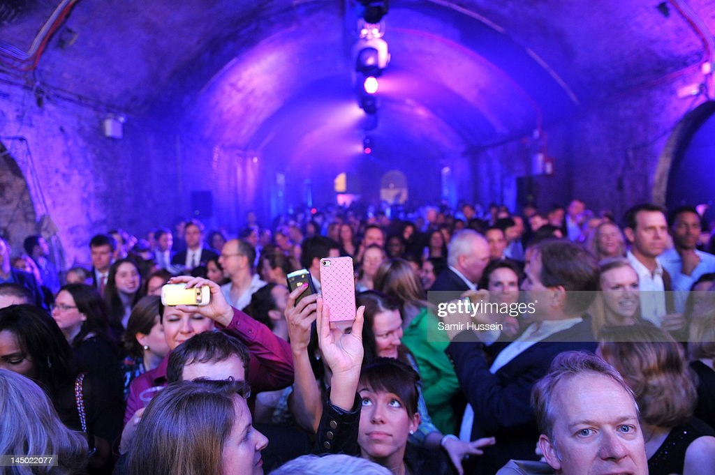 'A Night Out With The Millennium Network,' at the Old Vic Tunnels, presented by The Clinton Foundation and The Reuben Foundation. The evening, hosted by Bill Clinton, Chelsea Clinton, Gwyneth Paltrow and Will i Am took place on the 22nd May 2012 in London, England.