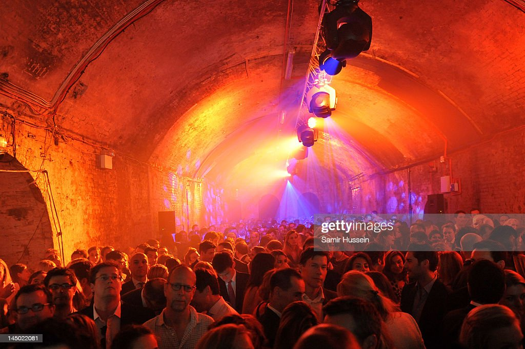 'A Night Out With The Millennium Network,' at the Old Vic Tunnels, presented by The Clinton Foundations and The Reuben Foundation. The evening, hosted by Bill Clinton, Chelsea Clinton, Gwyneth Paltrow and Will i Am took place on the 22nd May 2012 in London, England.