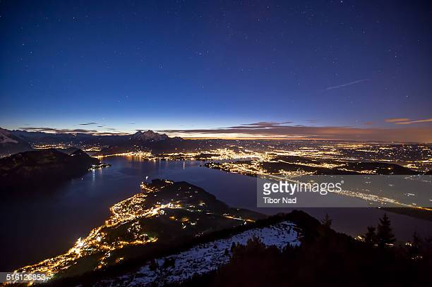 Night over Lucern