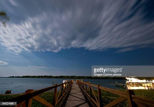 Night over the Danube Delta