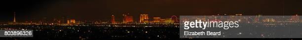 Night panorama of the Las Vegas Strip
