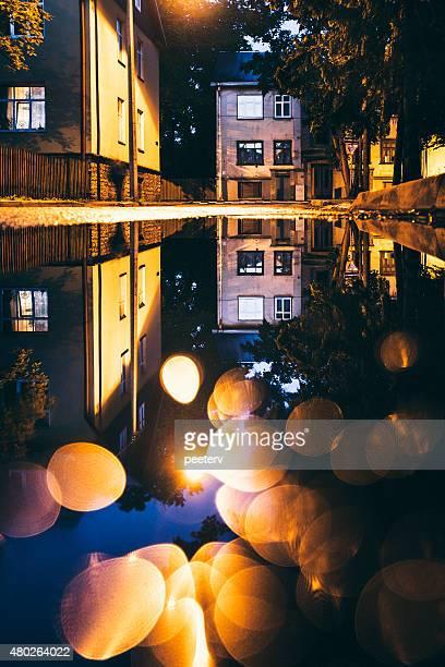 Night reflections.