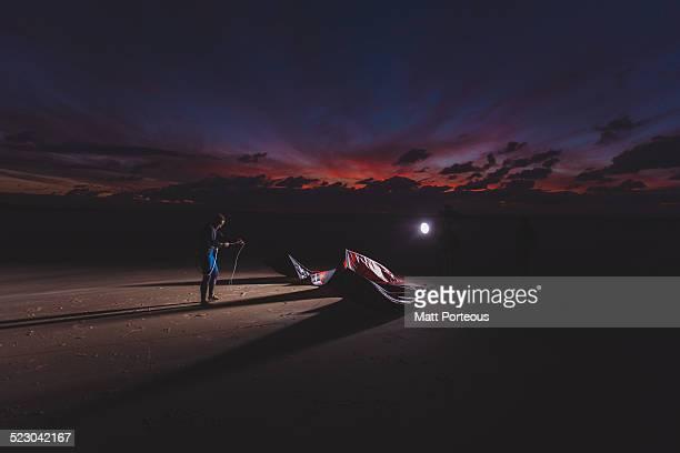 Night Rider Kite surf
