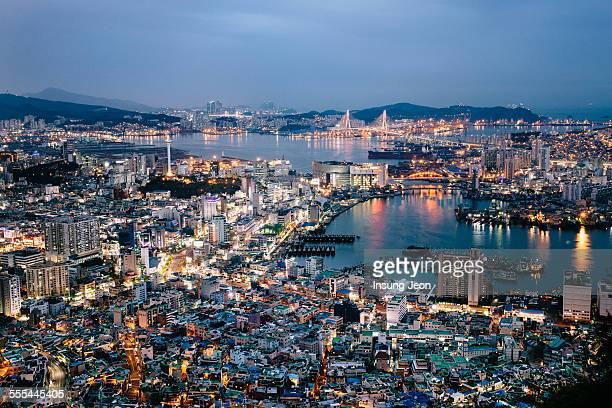 Night scene in Busan