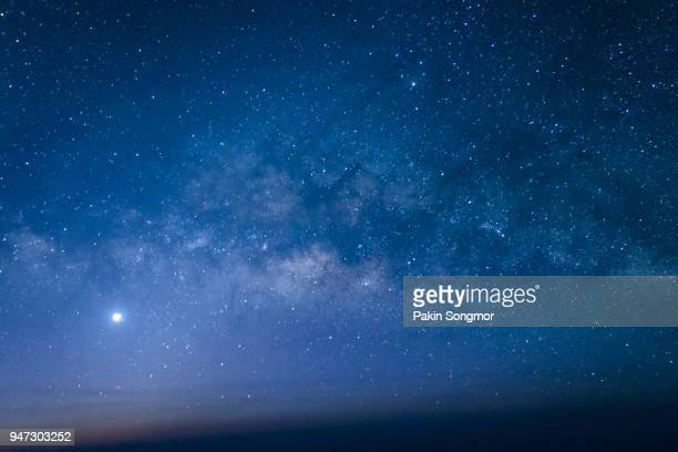 night scene milky way background - celebrities stock-fotos und bilder