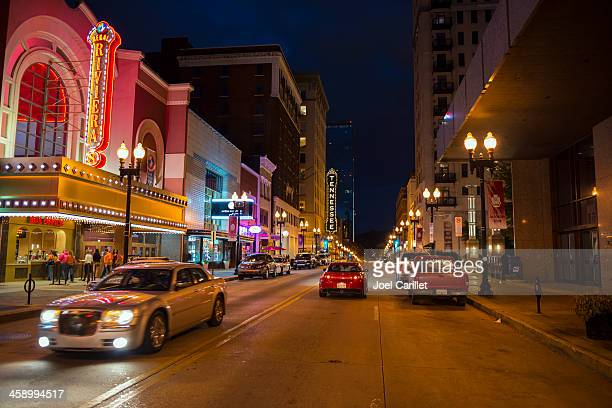 gay street in knoxville - knoxville tennessee stock pictures, royalty-free photos & images