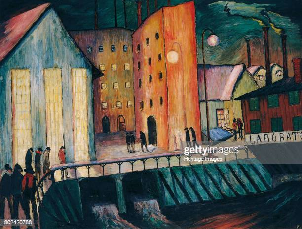Night Shift, 1924. Found in the collection of Museo Communale d'Arte Moderna, Ascona.