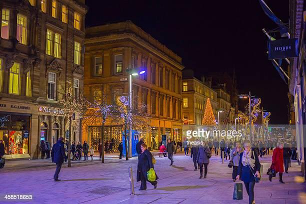 Nuit des boutiques à Buchanan Street Glasgow
