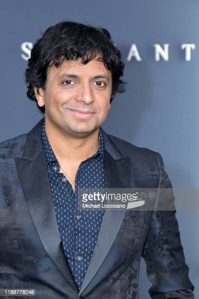 M Night Shyamalan attends the world premiere of Apple TV's Servant at BAM Howard Gilman Opera House on November 19 2019 in the Brooklyn Borough of...