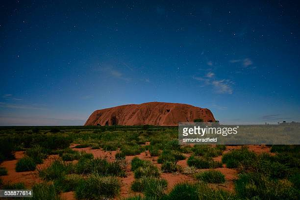Night Skies Over Uluru