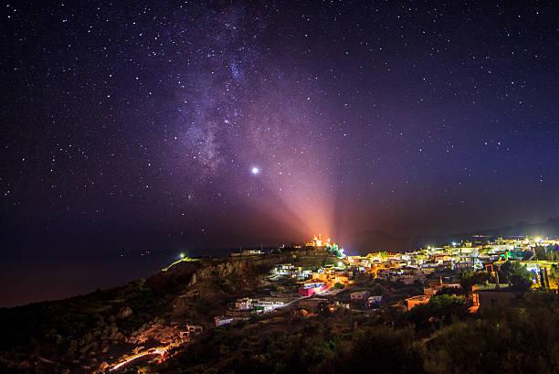Night Sky over Sellia, Crete, Greece