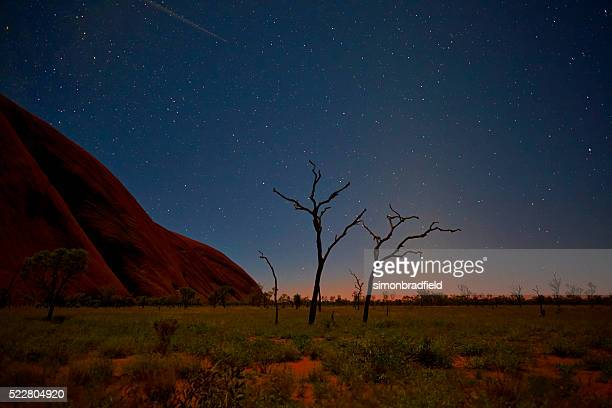 Night Sky Over Uluru