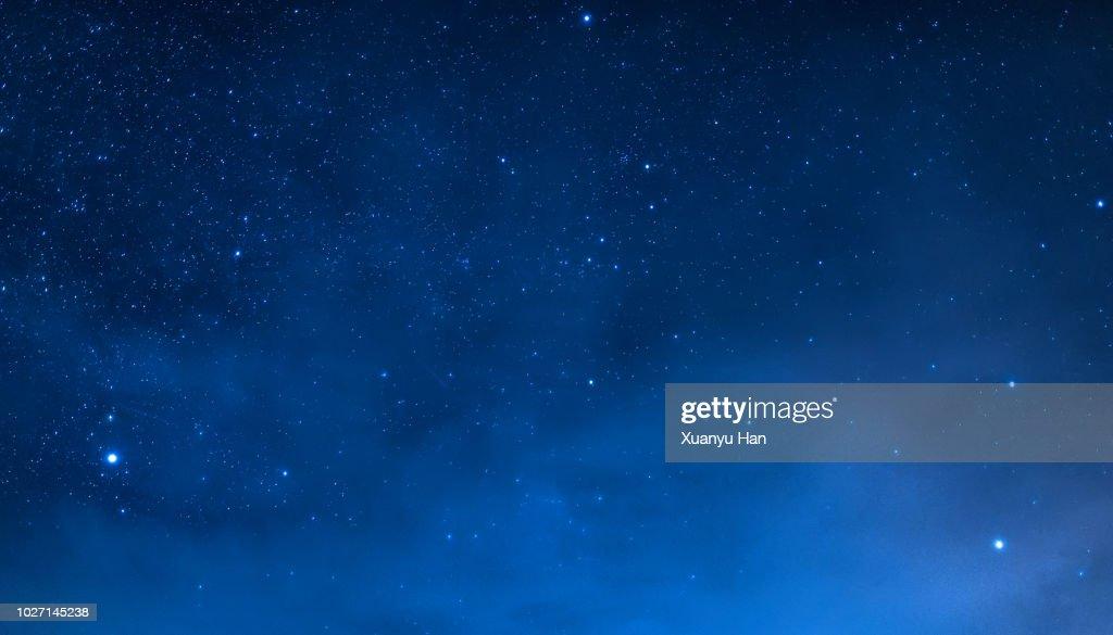Night sky : Stock Photo