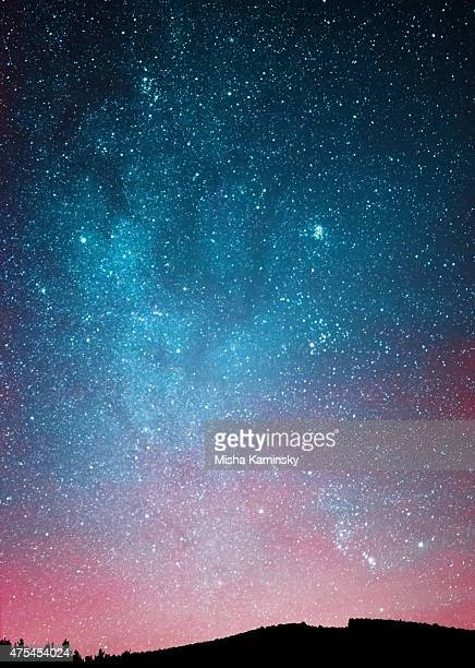 night sky - star space stock pictures, royalty-free photos & images