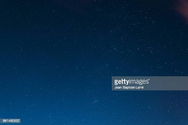 night sky - star field stock photos and pictures