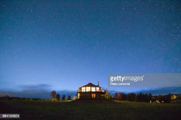 Night sky resting house