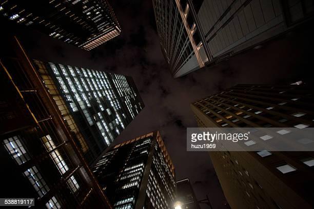 Night Skyscraper