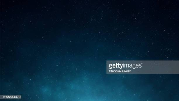 night starry sky abstract space background