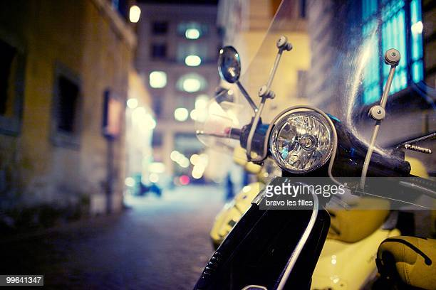 Night street. Rome
