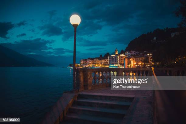 Night time in Bellagio, Italy