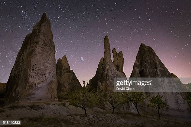 Night time, Rose Valley, Cappadocia, Turkey