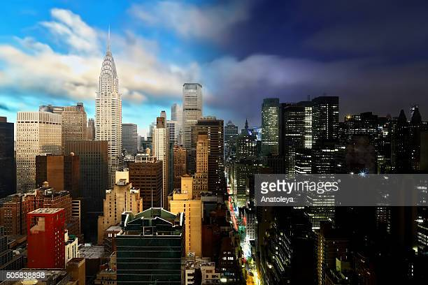 night to day in nyc - day stock pictures, royalty-free photos & images