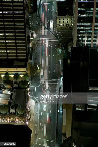 Night Traffic Flow