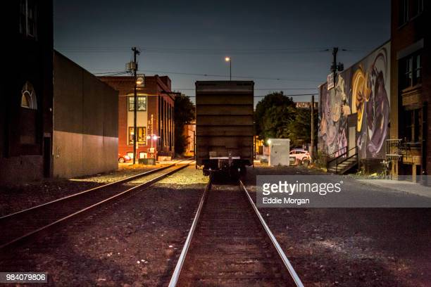 night train portland - carriage stock pictures, royalty-free photos & images