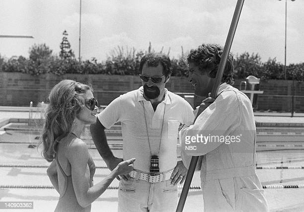 "Night Train to Dallas"" Episode 5 -- Aired 10/14/76 -- Pictured: Lane Bradbury as Amy Nichols, Alan J. Levi , Ben Murphy as Sam Casey -- Photo by:..."