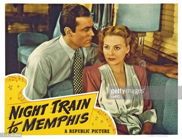 Night Train To Memphis US lobbycard from left Allan Lane Adele Mara 1946