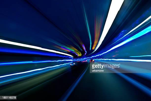 Nacht-tunnel