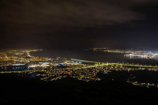 Night view from cavehill belfast