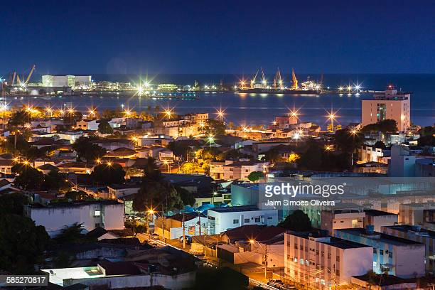 A Night View from Maceió City
