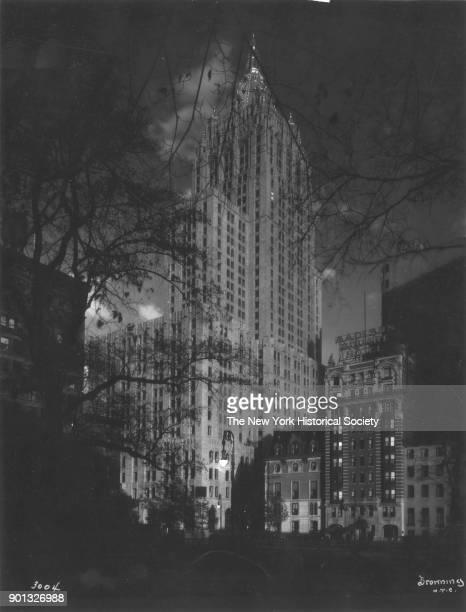 Night view New York Life Insurance Company 51 Madison Avenue New York New York 1929 Cass Gilbert architect
