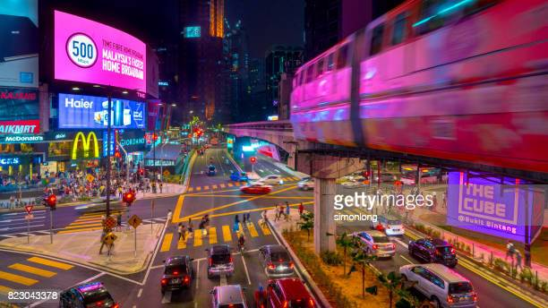 Night view of Bukit Bintang, Kuala Lumpur