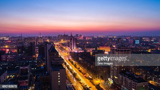 Night View of Changchun City