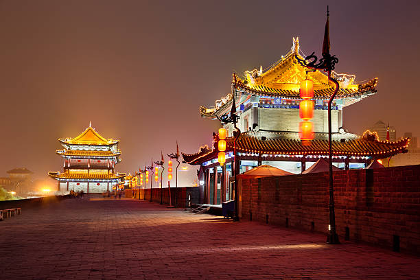 South Gate Of Xi'An City Wall, China Wall Art