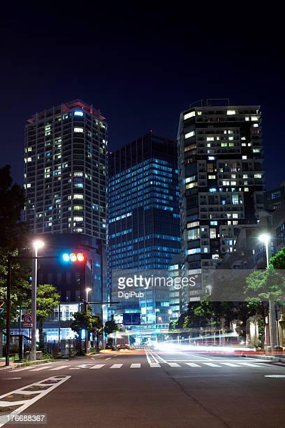 Night view of Kinko-cho, Yokohama