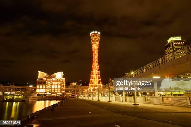 Night view of Kobe, Japan