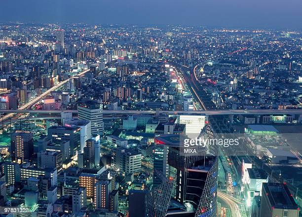 Night View Of Nagoya, Aichi, Japan
