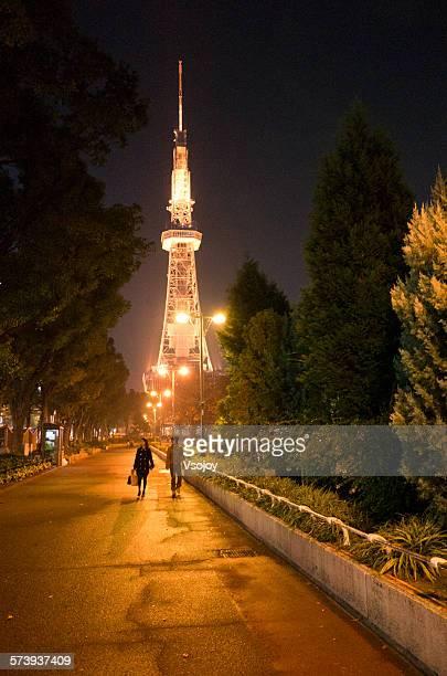 Night view of Nagoya Tower, Japan