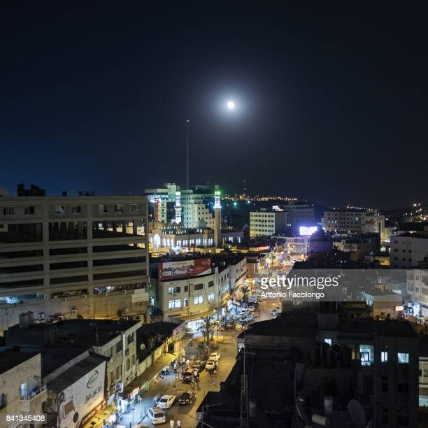 A night view of Ramallah city center This is the story of Palestinian prisoners'u2019 wives who have turned to sperm smuggling in order to conceive...