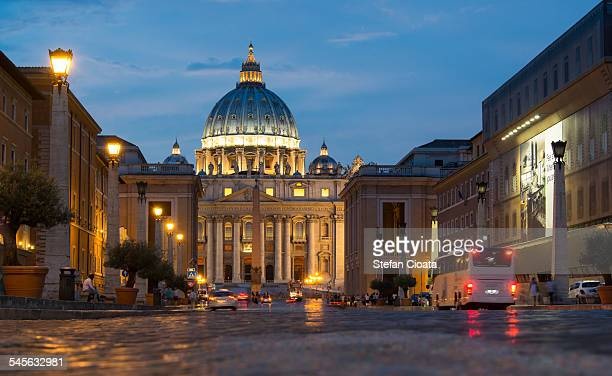 Night walk to Vatican